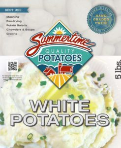 iowa white potatoes